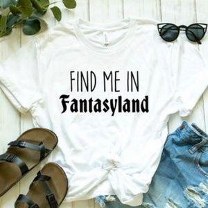Tops - Find Me in Fantasyland Disney Top